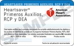 CPR en Español